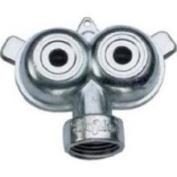 Green Thumb 56262 Zinc Twin-Circle Spray Sprinkler