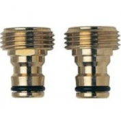 Melnor Industries Brass Male Quick Connector Inch - 47C