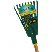 Flexrake 4W Shrub Rake 18cm Poly Head with 120cm Wood Handle