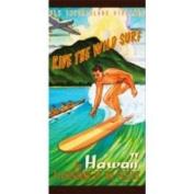Buns of Maui Hawaii Beach Towel Playground of The Pacific