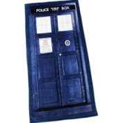 Dr Who Unisex-adult Doctor Who TARDIS Beach Towel Standard