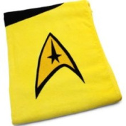 Star Trek Towels - Kirk (Gold)
