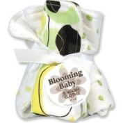 Trend Lab 101267 Giggles Blooming Bouquet Wash Cloths- Set of 5