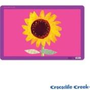 Crocodile Creek 2834-6 Sunflower Placemat