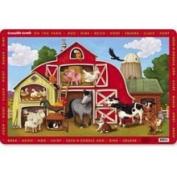 on The Farm Placemat by Crocodile Creek - 2824-6