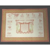 Chinese Zodiac Paper Placemats 50 Pieces PP-02