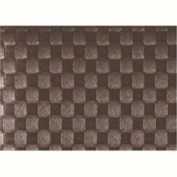 Saleen Placemat - Woven Plastic - Light Brown 12 . 16
