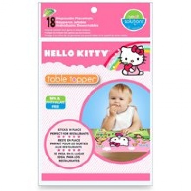 Neat Solutions Hello Kitty 18 Count Eco Table Topper