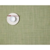 Chilewich Mini Basketweave Rectangle Placemat : Dill