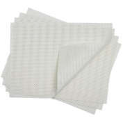 Chilewich Basketweave Rectangle Placemat : White