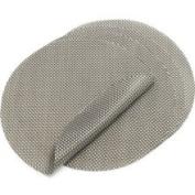 Chilewich Titanium Round Basketweave Placemat