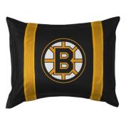 Sports Coverage 05JSSHM5BRUSTAN Boston Bruins Sideline Sham in Black 0
