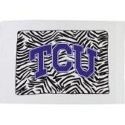 Bunnies and Bows Standard Pillowcase Texas Christian University Zebra Girl