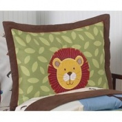 JoJo Designs Jungle Time Pillow Sham - Same Sham As in Set