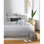 Bar III Bedding, Texture Stripe Standard Sham