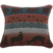 Wooded River WD872 Deer Meadow Euro Sham