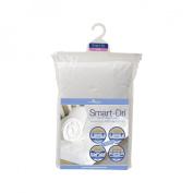 Living Textiles Baby Smart-Dri Waterproof Mattress Pad - Crib - White