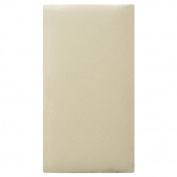 L.A.BABY 10RGC Waterproof 100% Organic Cotton Mattress Cover- Ecru