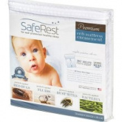 Saferest Premium Hypoallergenic Zippered Certified Bed Bug Proof Crib Mattress Encasement