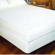 BargooseHomeTextiles Bedbug Solution Zippered Mattress Cover Depth / Size