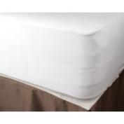 DreamTex Dream Decor Organic Cotton Plain Top Full-Size Mattress Pad