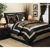 Pastora 7-Piece Patchwork Comforter Set