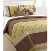 Northgate 7 Piece Queen Embroidered Comforter Set