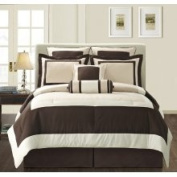 EverRouge Ivory Gramercy California King-size 8-Piece Comforter Set