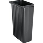 Cambro 258368 30.3l Trash Container for KD Cart Black
