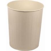 Medium Round Waste Basket, Almond by Witt