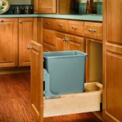 Rev-A-Shelf Wood Pull-Out 33.1l Waste Container