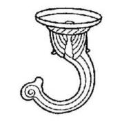 Mintcraft GB0093L 0 White Decorative Ceiling Hook