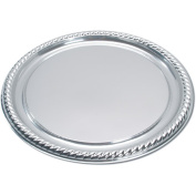 Silver 41cm Plastic Party Tray