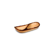 Enrico 2841 Mango Divided Tray in Lacquer