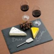 JK Adams Slate Cheese Serving Tray