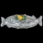 Arthur Court Sealife Trout Oblong Tray