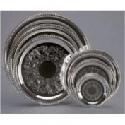 Creative Gifts Gadroon Embossed Tray, Silver Plated. (indonesia).