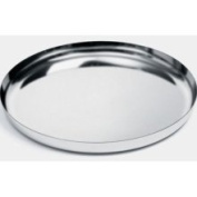 Alessi 35 cm Round Tray in 18/10 Stainless Steel with Mirror Polished