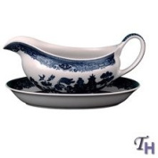 Johnson Brothers by Wedgwood Willow Blue Gravy Boat 350ml