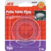 Ace Table Umbrella Cover Protector Plug 5.1cm OD - Clear