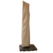 Taupe Large Offset Umbrella Cover