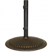 Blue Wave Umbrellas Bases & Stands 23kg. Classic Cast Iron Patio Umbrella Base in Bronze NU5405A