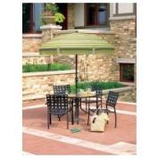 Living Accents U758-a11-626ma Espresso Garden Umbrella