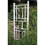 Wellington White Vinyl Garden Trellis
