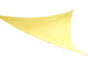 Coolaroo 434496 Party Sail 2.74m 25.4cm Triangle Yellow