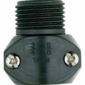 Melnor 2MMC Male Coupling, 5/8in. to 3/4in. Black