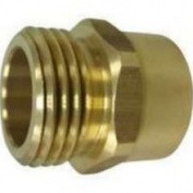 Mintcraft PMB-468-3L - 3/4x3/4 Brass Hose Adapter