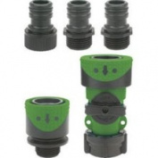 Gilmour 2939QFGT Full-Flow Quick-Connector Hose End/Faucet Set