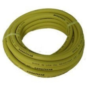 Goodyear Goodyear 045 3/8-inch-by-15.24m x 0m Safety Yellow Rubber Hose 3/8 -Inch by 15.24m x 0m 250 PSI with 0.6cm Ends 46502A