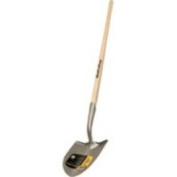 Mintcraft Pro 33916 Solid Shank Shovel with Long Wood Handle
